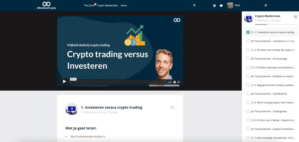 Trading Crypto Masterclass